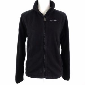 Marmot Fleece Jacket Full Zip Embroidered Logo